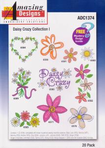 Amazing Designs ADC1374 Daisy Crazy Collection I Multi-Formatted CD