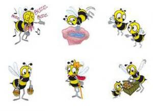Dakota Collectibles 970322 Beez, Beez, Bees Embroidery Designs Multi-Format CD