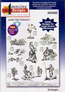 Amazing Designs / Great Notions 5022 Jumbo Toile Collection I Multi-Formatted CD