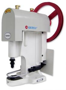 Jiasew by Gemsy GEM808 All Metal, Large Hand Wheel, Button Sew On Attaching Industrial Machine - Head Only, No Table, Stand and 380 Watt, 300RPM Motor