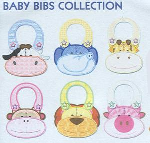 Smartneedle Baby Bib Collection 5X7 Embroidery Designs Multi-Formatted CD