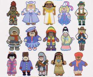 Dakota Collectibles 970127 Sewing  Big 15 Dolls of the World Multi-Formatted CD