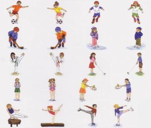 Dakota Collectibles 970156 Sportin Kids Multi-Formatted CD