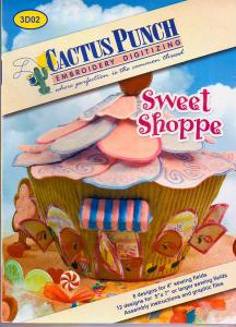 Cactus Punch 3D02 Sweet Shoppe Multi-Formatted CD Large Designs