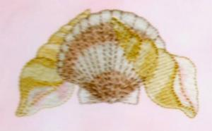 Dakota Collectibles 970241 Seashells Embroidery Designs Multi-Formatted CD