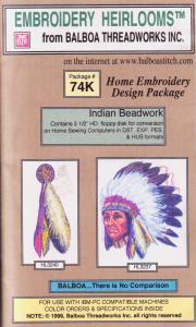 Balboa Threadworks 74K Indian Beadwork Embroidery Disks