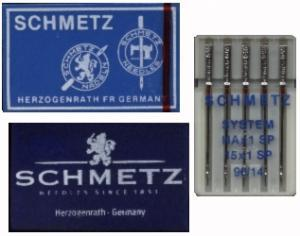 15221: Schmetz 206x13 Flat Shank Needles A100 Size 14 for Singer 206, 306, 319