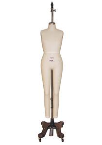 PGM Pro 613A Girls Full Body Professional Dress Form Sz 7G 8G 10G 12G 14G