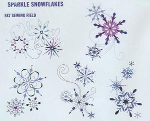 Dakota Collectibles 970339 Sparkle Snowflakes Large and Small Designs  Multi-Formtted CD