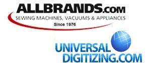15481: Universal Digitizing Online Custom Digitize Service, Flat Rate Pricing, Nex