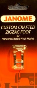 Janome 16- 200137003 Custom Crafted ZigZag Foot up to 7mm Wide
