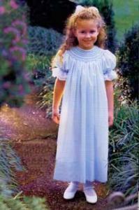 15513: Ellen McCarns Ultimate Bishop Dress Heirloom Sewing Pattern 3mo-4Yr, 5-12Yr