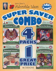 John Deers Adorable Ideas 86 Designs American, Bad To The Bone, Basketball, & Football Mulit-Formatted CD