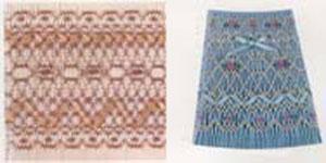 Ellen McCarn Antique Lace Smocking Plate