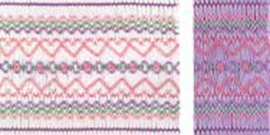 Ellen McCarn EM069 Beginner's Sampler Smocking Plate Sewing Pattern in Colors