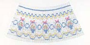 Ellen McCarn EM026 Baskets Designs Smocking Plate Sewing Pattern