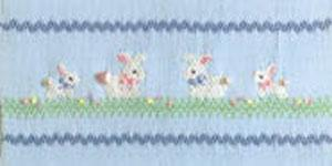 Ellen McCarn EM118 Bunny Luv Smocking Plate Sewing Pattern