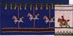Ellen McCarn EM050 Carousel Smocking Plate Sewing Pattern in Colors