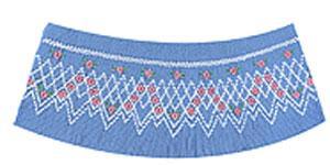 Ellen McCarn EM203 Christina Smocking Plate Sewing Pattern in Colors