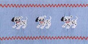 Ellen McCarn Dalmation Puppies Smocking Plate