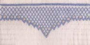 Ellen McCarn Diamonds by Florence Smocking Plate