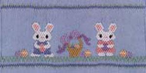 Ellen McCarn EM098 Eggs-Travaganza! Smocking Plate Sewing Pattern