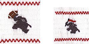 Ellen McCarn EM204 Elephants Smocking Plate Color Sewing Pattern