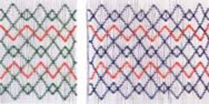 Ellen McCarn Geometric Smocking Plate