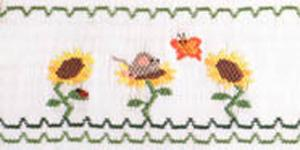 Ellen McCarn Mice To Meet You Smocking Plate