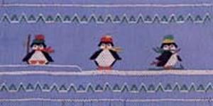 Ellen McCarn  Preston's Penguins Smocking Plate