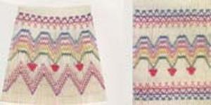 Ellen McCarn  Rainbow Hearts Smocking Plate