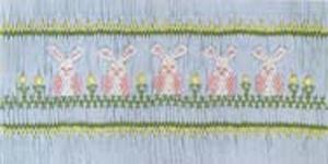 Ellen McCarn Sundress Bunnies Smocking Plate