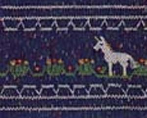 Ellen McCarn  Unicorn  Smocking Plate