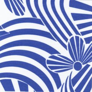 Fabric Finders 15 Yd Bolt 9.34 A Yd #478 Dark Blue Floral 100% Pima Cotton Fabric