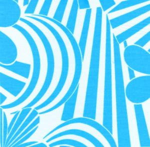 Fabric Finders 15 Yd Bolt 9.34 A Yd  #480 Light Blue Floral 100% Pima Cotton Fabric