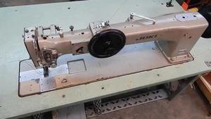 "2500: Juki LG-158-1 Single Needle 30"" LongArm Walking Foot Industrial Sewing Machine & Power Stand"