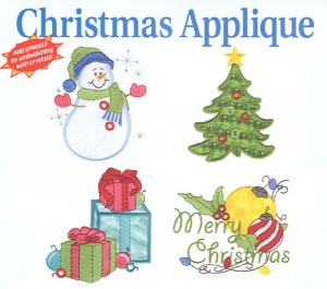 Dakota Collectibles F70311 Christmas Applique Multi-Formatted CD
