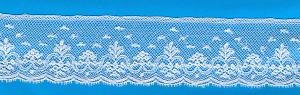 Capitol Imports Maline Lace 200374 White for Heirloom Sewing