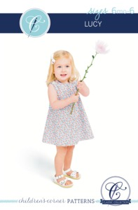 Children's Corner CC241 Lucy Sewing Pattern Sizes 6m-6