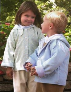 Childrens Corner CC264 Casey Coat Sewing Pattern Sizes 6 Months to 3 Years