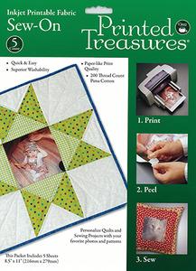 "Dritz 7219A Printed Treasures 5 Transfer Sheets 8.5x11"""