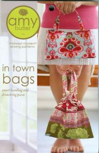 Amy Butler Designs 93-513 In Town Bags A Midwest Modern Sewing Pattern