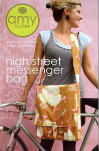 Amy Butler Designs 93-2375 High Street Messenger Bag A Midwest Modern Sewing Pattern