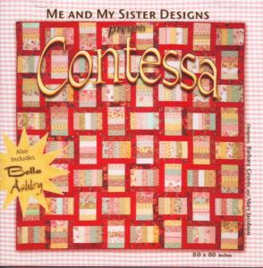 Me and My Sister Designs Contessa Quilt Pattern CD for an 80 x 80 Inch , 2 Bonus Designs Bella and Ashley