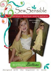 Sew Sensible Boutique Bottoms Pattern On CD