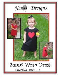 Nanoo Designs Sunny Wrap Dress