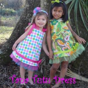 Nanoo Designs ND015 Tana Tutu Sundress Dress Sewing Pattern
