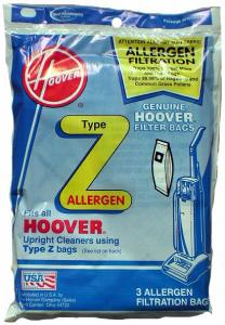 Hoover® 4010100Z 3-pack Type Z WindTunnel™ Allergen Filtration Bags