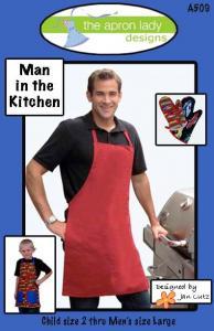The Apron Ladies Designs ALMAN A Man In The Kitchen!