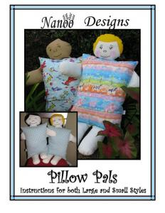 Nanoo Designs Pillow Pals Pattern In Two Sizes For Boy And Girls